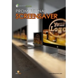 Screensaver with your logo