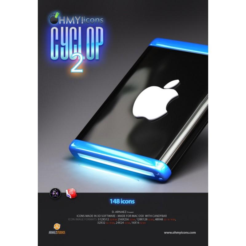 Cyclop 2 OSX - Black Mac Icons