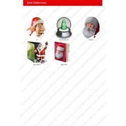 Santa's Icon Theme