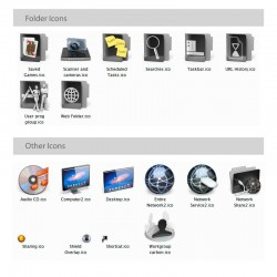Carbon - Iconpackager Theme - Folder icons