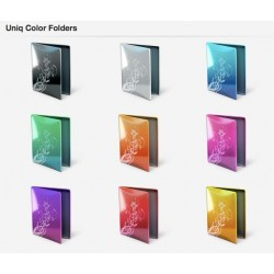 Uniq Color Folders - PNG