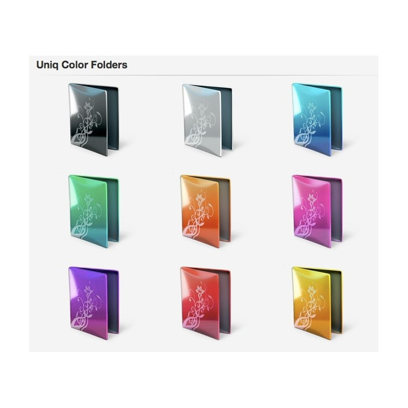 Uniq Color Folders - Mac