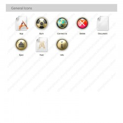 Cleo - Female Egyptian icon theme for Mac