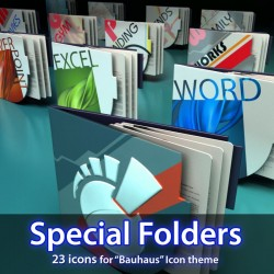 Bauhaus - Special Icon Folders