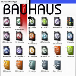 Bauhaus - Office Icon Apps