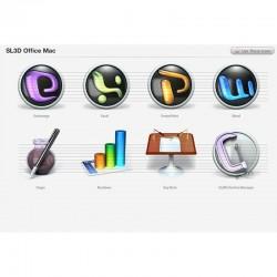 Office Mac Icons - Snow Leopard 3D