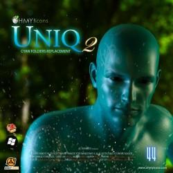 Uniq 2 Color - Cyan