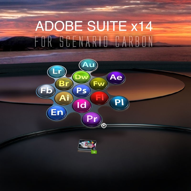 Adobe Suite x14 for Carbon