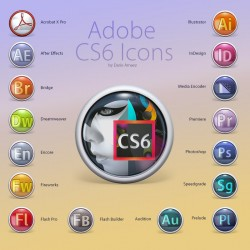 Adobe CS6 Icons for Snow Leopard