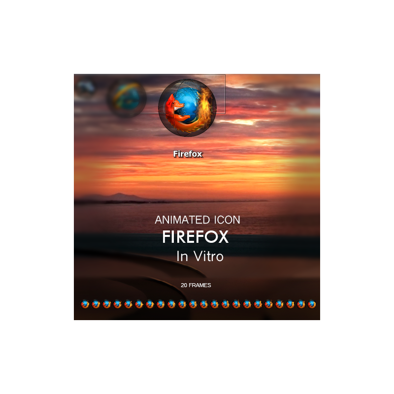 Animated Icon - Firefox
