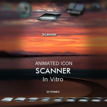Animated Icon - Scanner