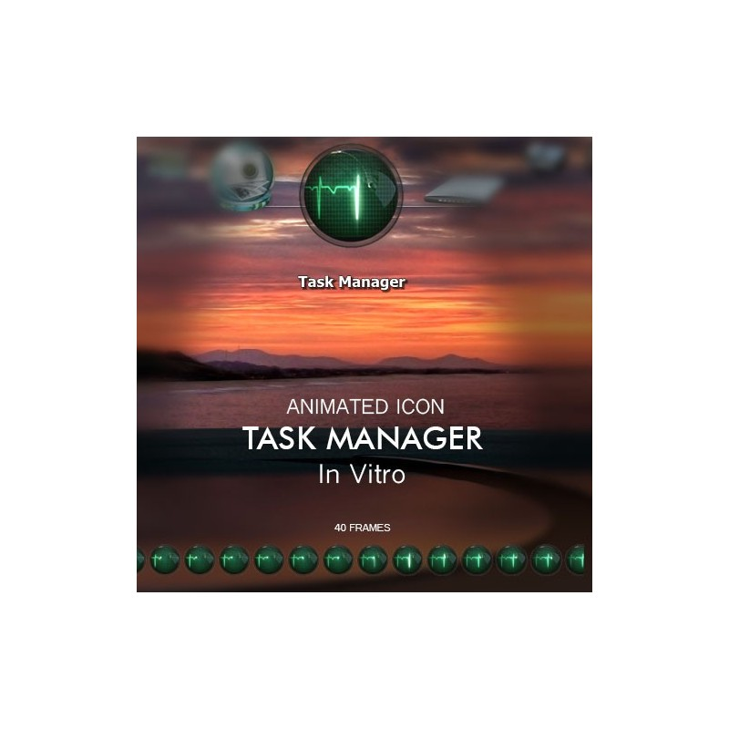 Animated Icon - Task Manager