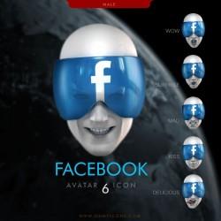 Facebook Faces - He