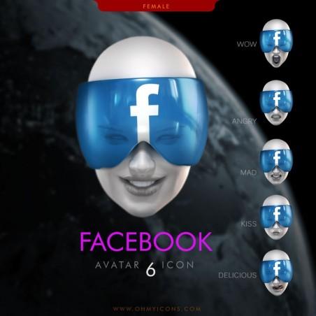 Facebook Faces - She