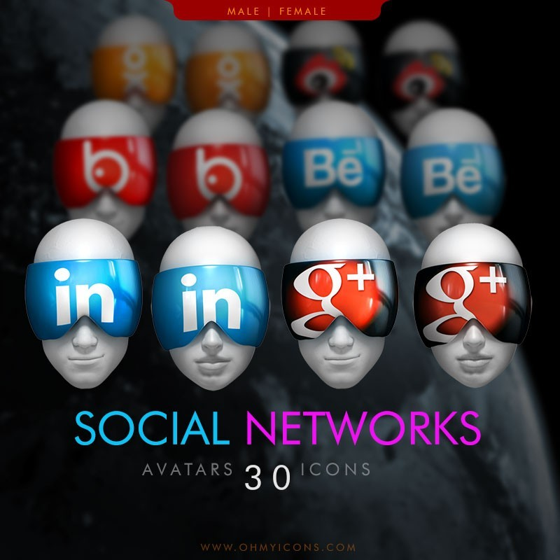 Social Network Avaticons