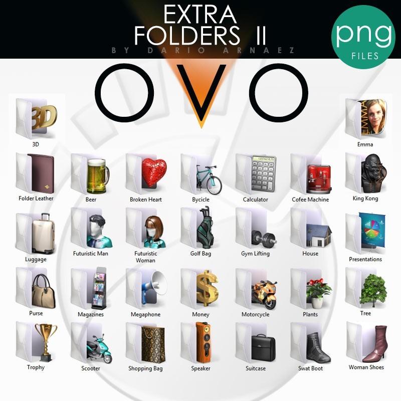 OVO Extra Folders II - PNG