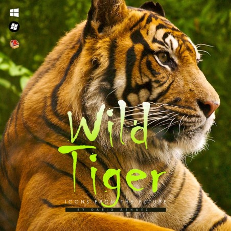 Wild Tiger - Iconpackager Theme