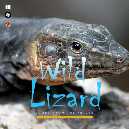 Wild Lizard - Iconpackager Theme