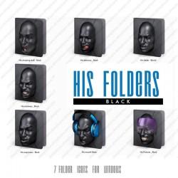 His Folders - Black