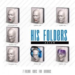 His Folders - Asian