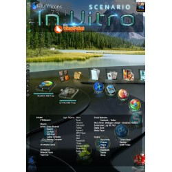 Scenario InVitro - Glass DesktopX theme