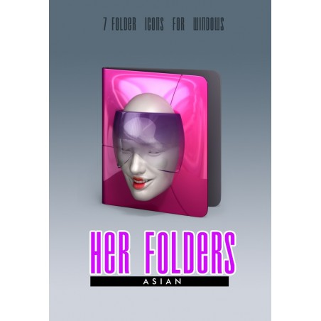 Her Folders - White