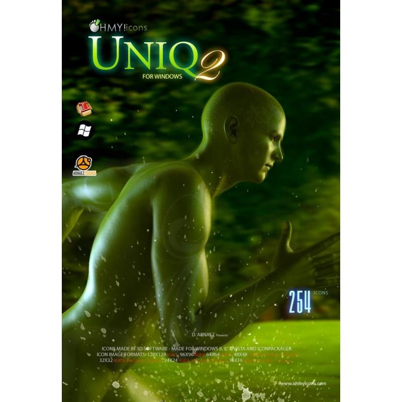 Uniq 2 - Green Icons