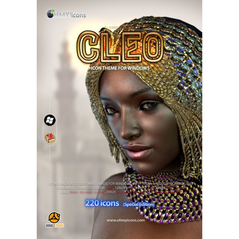 Cleo- African Egyptian Icons