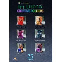 In Vitro Creative Folders (PNG)