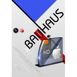 Bauhaus icon theme for Mac