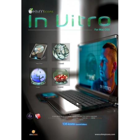 In Vitro - Glass Mac Icons