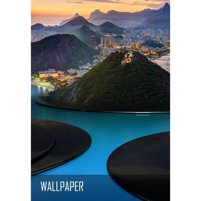 Rio City wallpaper
