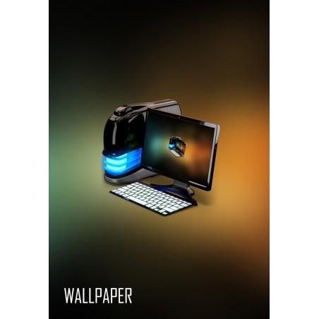 Cyclop Computer - 4K Wallpaper