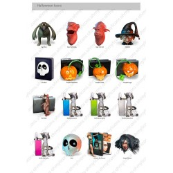 Halloween Icons - PNG